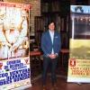 Andrés Romero presenta en Escacena los carteles de Sevilla y Madrid