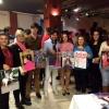 Andrés Romero y Esaú Fernández promocionan el calendario solidario de Asamom