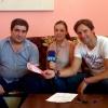 Andrés Romero ayuda a Fran, un niño con un enfermedad rara