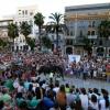 Espectacular acogida de Huelva a la presentación de la cuadra de Romero