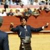 Andrés Romero y El Fandi comparten el triunfo en el festival de Almería