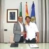 Andrés Romero renueva su compromiso como embajador del turismo de Huelva