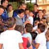 Andrés Romero invita a cincuenta niños de Escacena a Colombinas
