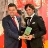 Andrés Romero recibe el Premio El Cabezo como Mejor Rejoneador en las Colombinas de Huelva