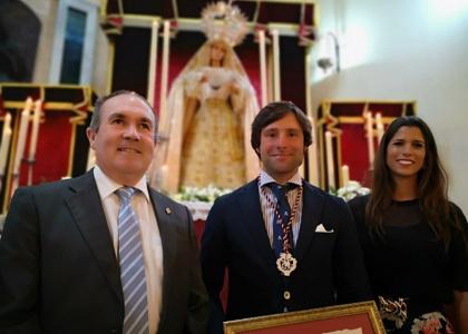 La Hermandad del Prendimiento de Huelva nombra a Andrés Romero Hermano Bienhechor