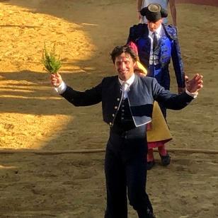 Andrés Romero se exhibe en Cazalla de la Sierra