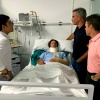 Andrés Romero sufre fractura de clavícula, a la espera de nuevas pruebas que se le practicarán hoy