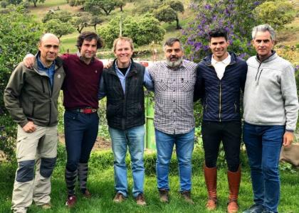El equipo de Toros para Todos, de Canal Sur TV, visita La Corchuela