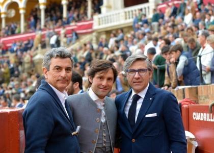 Andrés Romero termina su apoderamiento con Carlos Pereda y Óscar Polo tras cuatro años juntos